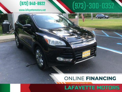 2013 Ford Escape for sale at Lafayette Motors 2 in Andover NJ