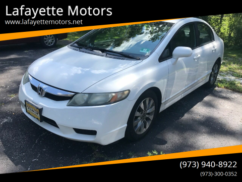 2010 Honda Civic for sale at Lafayette Motors in Lafayette NJ