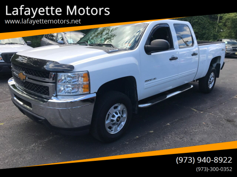 2014 Chevrolet Silverado 2500HD for sale at Lafayette Motors in Lafayette NJ