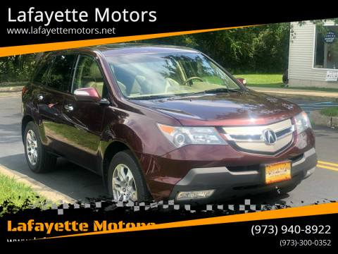 2008 Acura MDX for sale at Lafayette Motors 2 in Andover NJ