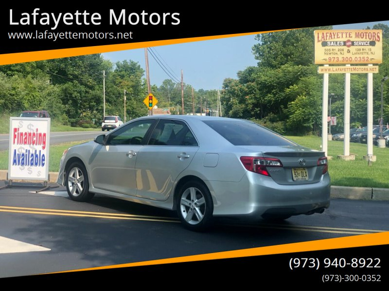 2012 Toyota Camry for sale at Lafayette Motors 2 in Andover NJ