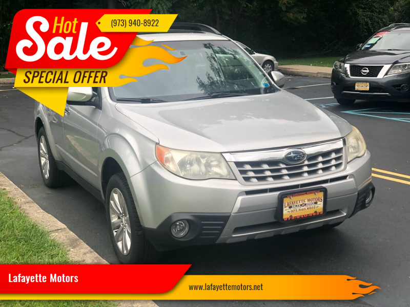 2011 Subaru Forester for sale at Lafayette Motors 2 in Andover NJ