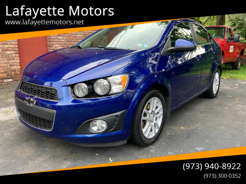 2012 Chevrolet Sonic for sale at Lafayette Motors in Lafayette NJ