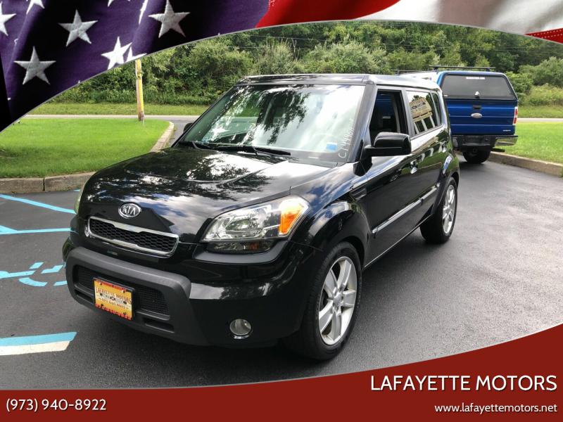2010 Kia Soul for sale at Lafayette Motors 2 in Andover NJ