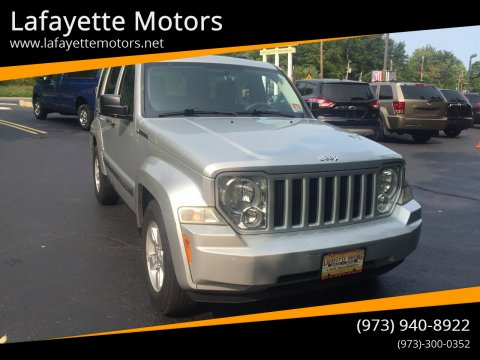 2009 Jeep Liberty for sale at Lafayette Motors in Lafayette NJ