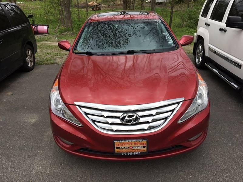 2011 Hyundai Sonata Limited 4dr Sedan - Lafayette NJ