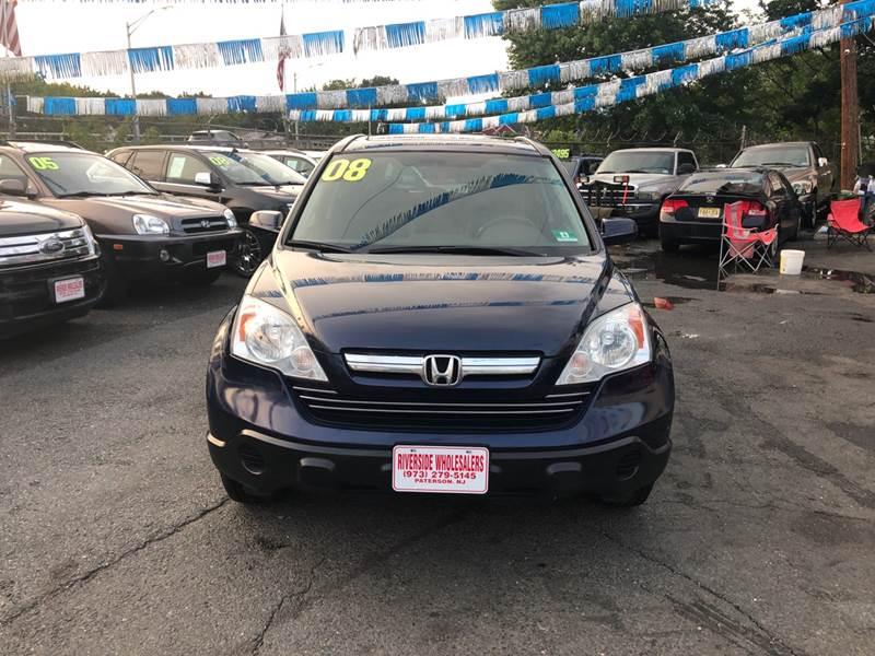 2008 Honda CR-V for sale at Riverside Wholesalers 2 in Paterson NJ