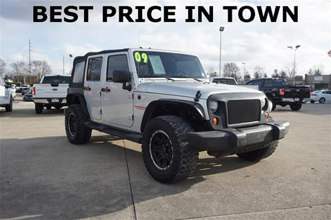 2009 Jeep Wrangler Unlimited for sale in Cincinnati, OH