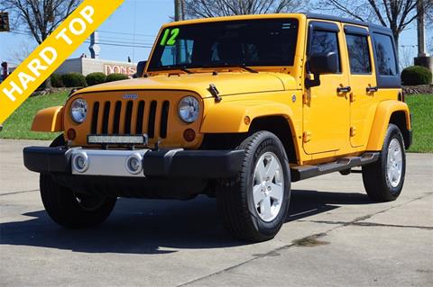 2012 Jeep Wrangler Unlimited for sale in Cincinnati, OH