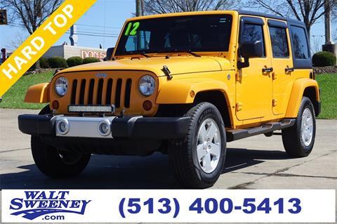 2012 Jeep Wrangler Unlimited for sale in Cincinnati, OH