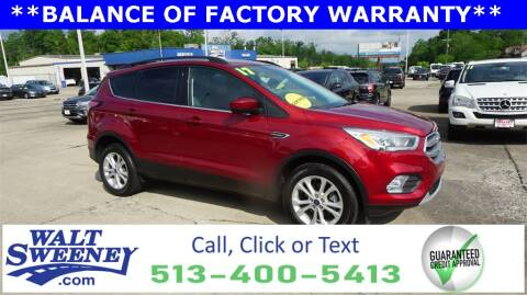 2017 Ford Escape for sale at Sweeney Preowned in Cincinnati OH