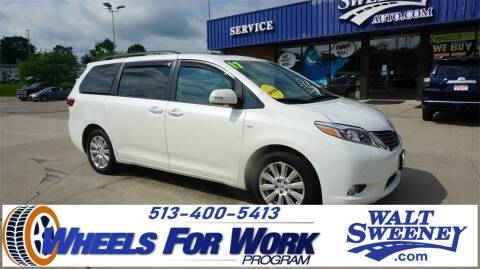 2017 Toyota Sienna for sale at Sweeney Preowned in Cincinnati OH