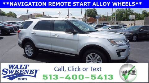 2018 Ford Explorer for sale at Sweeney Preowned in Cincinnati OH