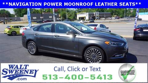 2017 Ford Fusion for sale at Sweeney Preowned in Cincinnati OH