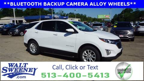 2019 Chevrolet Equinox for sale at Sweeney Preowned in Cincinnati OH