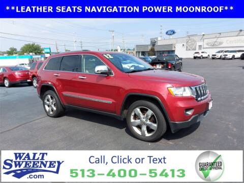 2012 Jeep Grand Cherokee for sale at Sweeney Preowned in Cincinnati OH