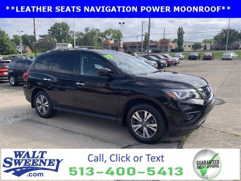 2017 Nissan Pathfinder for sale at Sweeney Preowned in Cincinnati OH