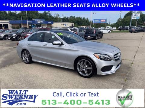 2016 Mercedes-Benz C-Class for sale at Sweeney Preowned in Cincinnati OH