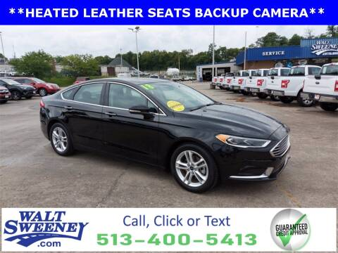 2018 Ford Fusion for sale at Sweeney Preowned in Cincinnati OH