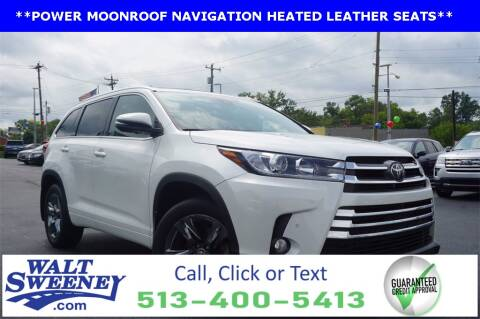 2018 Toyota Highlander for sale at Sweeney Preowned in Cincinnati OH