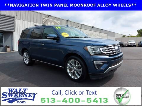 2019 Ford Expedition for sale at Sweeney Preowned in Cincinnati OH