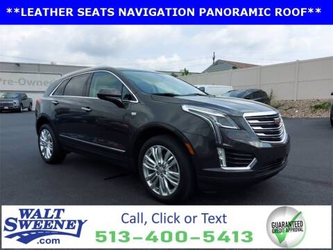 2017 Cadillac XT5 for sale at Sweeney Preowned in Cincinnati OH