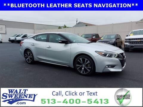 2018 Nissan Maxima for sale at Sweeney Preowned in Cincinnati OH