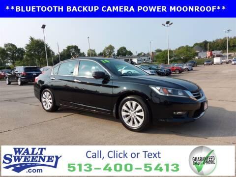 2014 Honda Accord for sale at Sweeney Preowned in Cincinnati OH