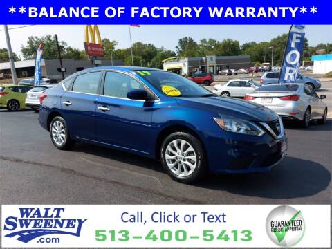 2019 Nissan Sentra for sale at Sweeney Preowned in Cincinnati OH