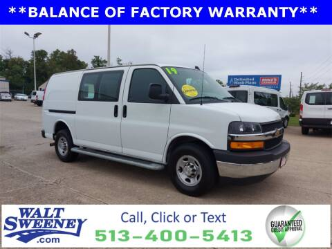 2019 Chevrolet Express Cargo for sale at Sweeney Preowned in Cincinnati OH