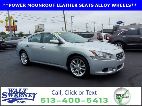 2010 Nissan Maxima for sale at Sweeney Preowned in Cincinnati OH