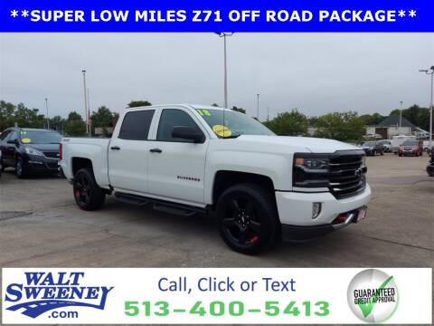2018 Chevrolet Silverado 1500 for sale at Sweeney Preowned in Cincinnati OH