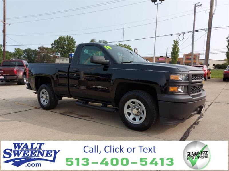 2014 Chevrolet Silverado 1500 for sale at Sweeney Preowned in Cincinnati OH