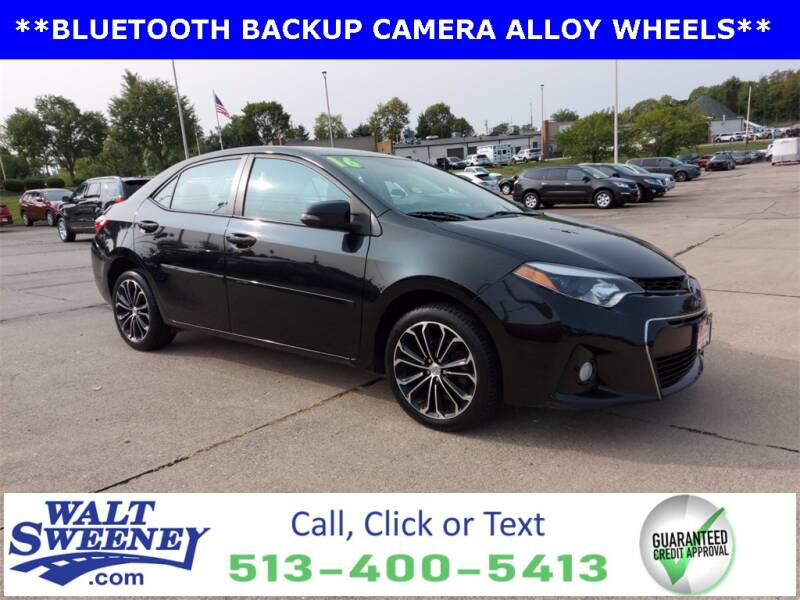 2016 Toyota Corolla for sale at Sweeney Preowned in Cincinnati OH