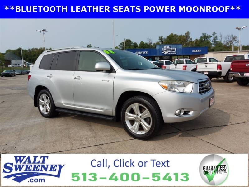 2008 Toyota Highlander for sale at Sweeney Preowned in Cincinnati OH