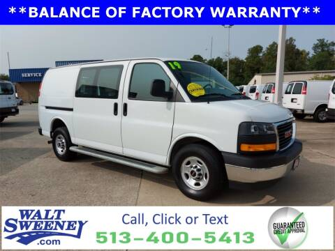 2019 GMC Savana Cargo for sale at Sweeney Preowned in Cincinnati OH