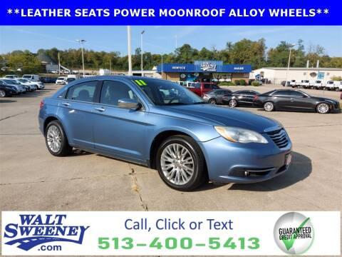 2011 Chrysler 200 for sale at Sweeney Preowned in Cincinnati OH