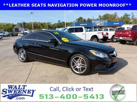 2014 Mercedes-Benz E-Class for sale at Sweeney Preowned in Cincinnati OH