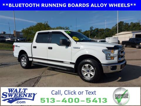 2015 Ford F-150 for sale at Sweeney Preowned in Cincinnati OH