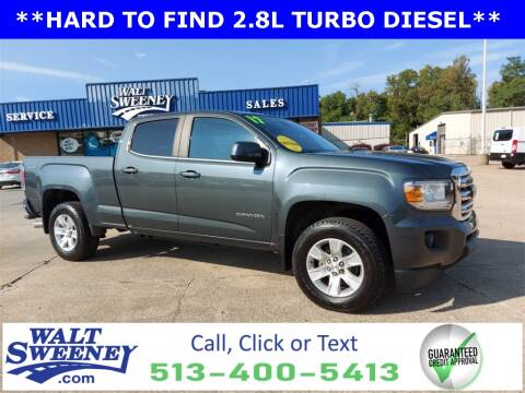 2017 GMC Canyon for sale at Sweeney Preowned in Cincinnati OH
