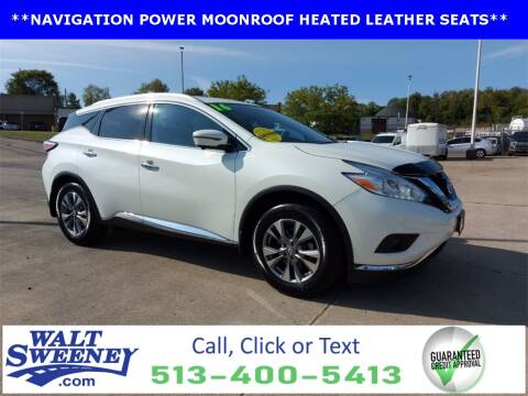 2016 Nissan Murano for sale at Sweeney Preowned in Cincinnati OH