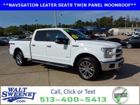 2016 Ford F-150 for sale at Sweeney Preowned in Cincinnati OH