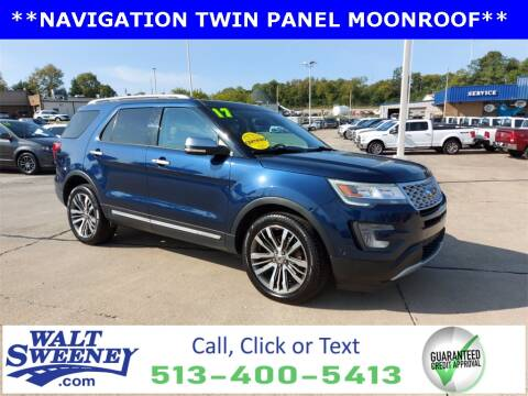 2017 Ford Explorer for sale at Sweeney Preowned in Cincinnati OH