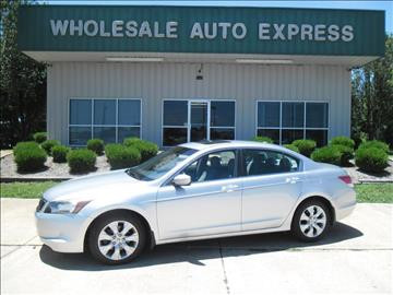 2008 Honda Accord for sale at WHOLESALE AUTO EXPRESS in Columbus MS