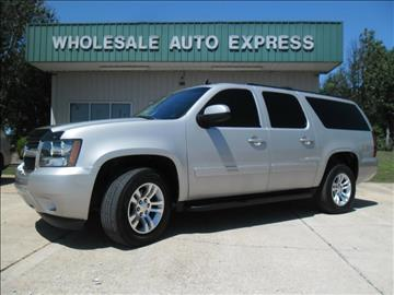 2009 Chevrolet Suburban for sale at WHOLESALE AUTO EXPRESS in Columbus MS