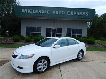 2007 Toyota Camry for sale at WHOLESALE AUTO EXPRESS in Columbus MS