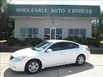 2011 Nissan Altima for sale at WHOLESALE AUTO EXPRESS in Columbus MS