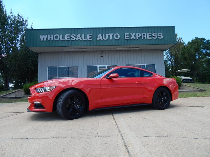 2016 Ford Mustang for sale at WHOLESALE AUTO EXPRESS in Columbus MS
