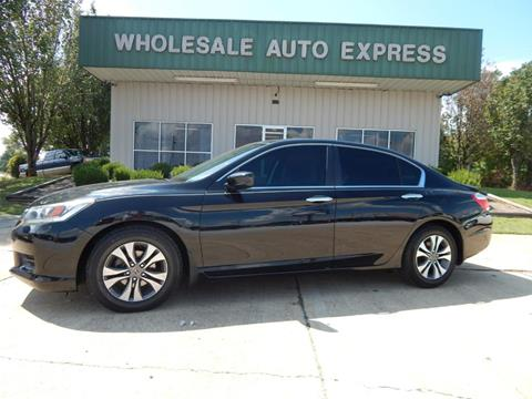 2013 Honda Accord for sale at WHOLESALE AUTO EXPRESS in Columbus MS