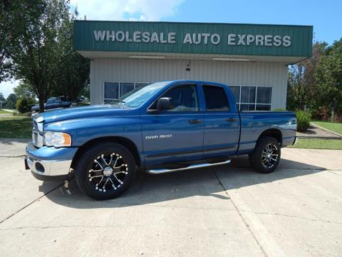 2003 Dodge Ram Pickup 1500 for sale at WHOLESALE AUTO EXPRESS in Columbus MS